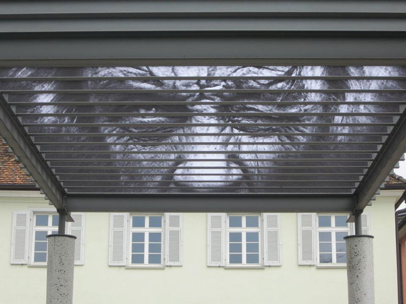 Street Art sur des barrières