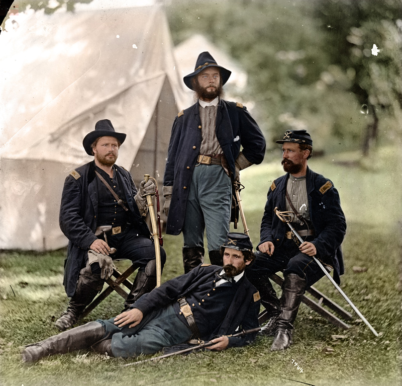 photo historique colorisée