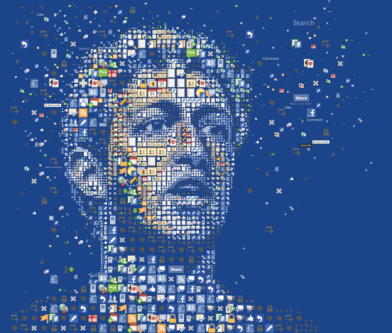 portrait de Mark Zuckerberg