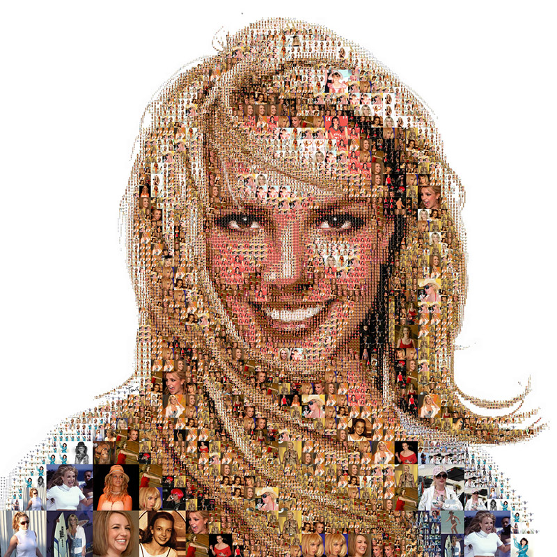 portrait de Britney Spears