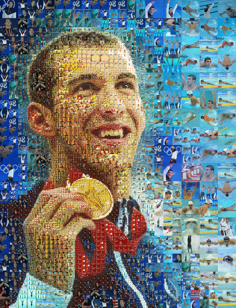 portrait de Michael Phelps