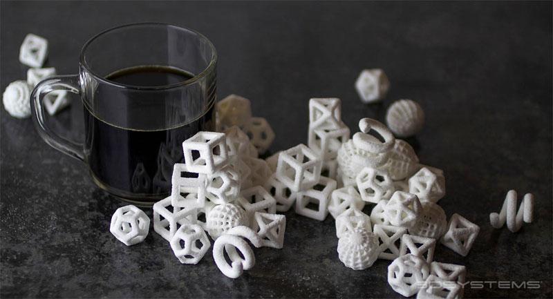 sucre en impression 3D