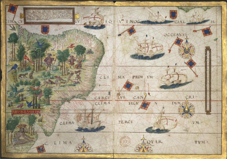 l'atlas nautique Miller