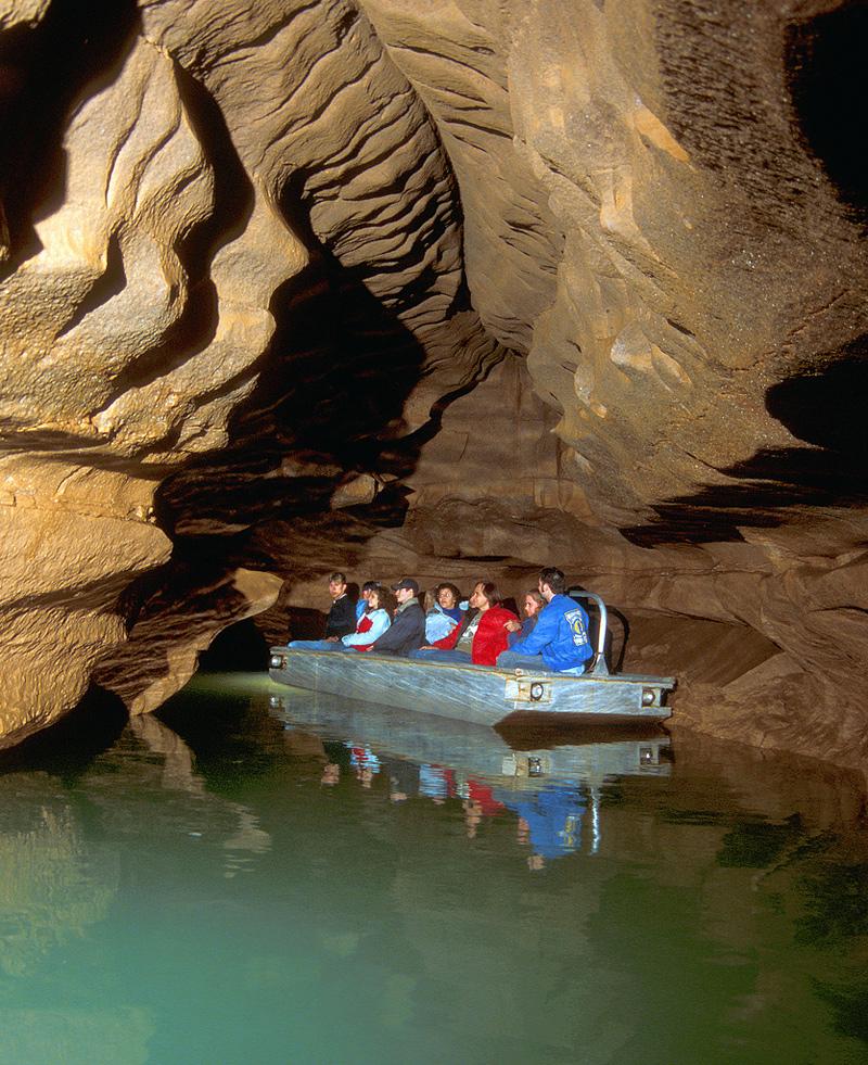 Les grottes de Blue Spring