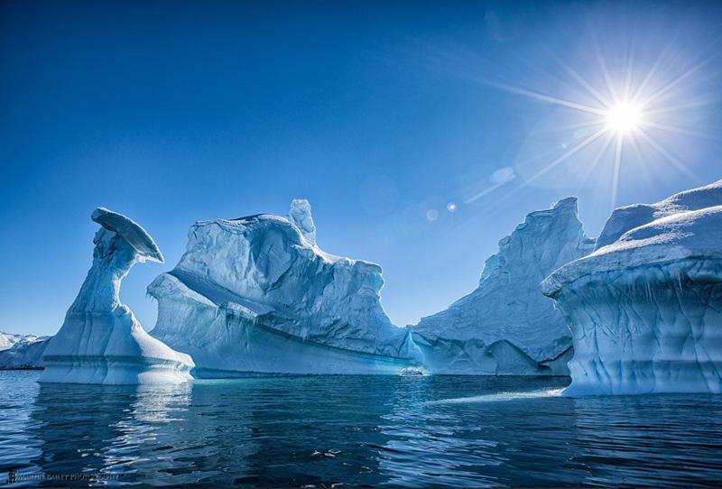 iceberg dans l'Antarctique