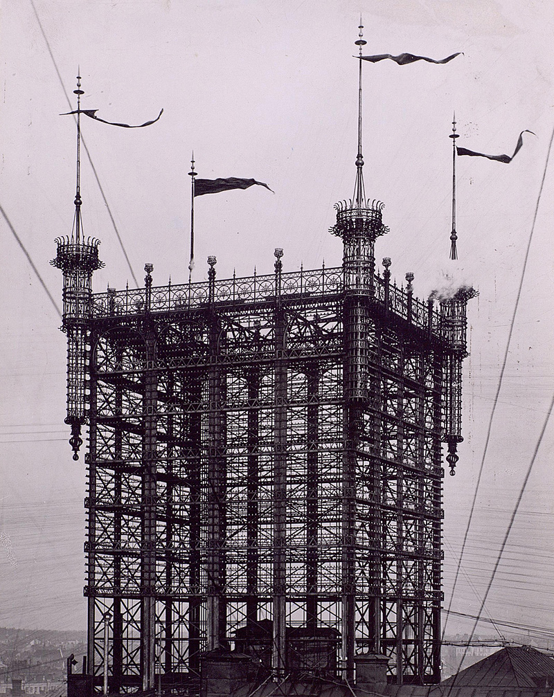 réseau téléphonique du 19ème siècle à Stockholm