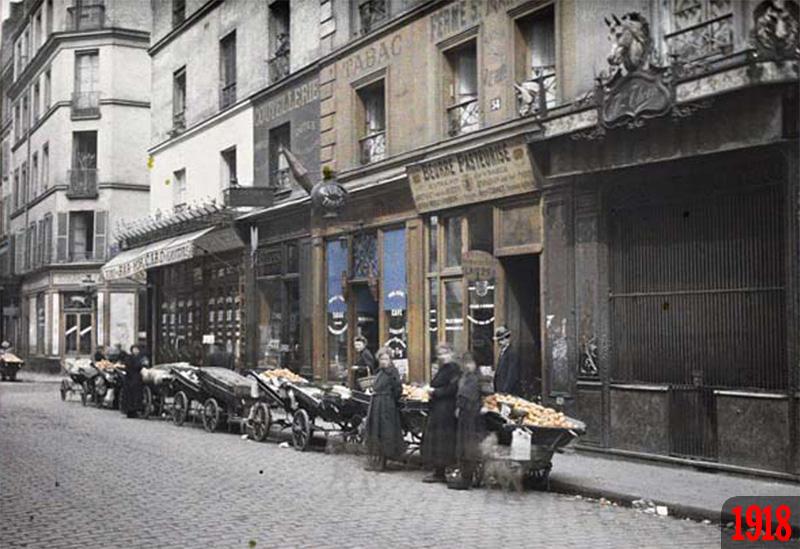 photos de Paris avant et aujourd'hui