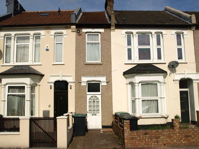 Une maison étroite à Londres