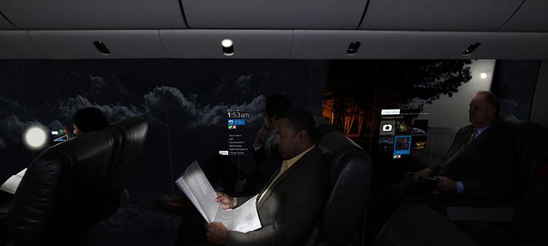 avion sans fenêtres