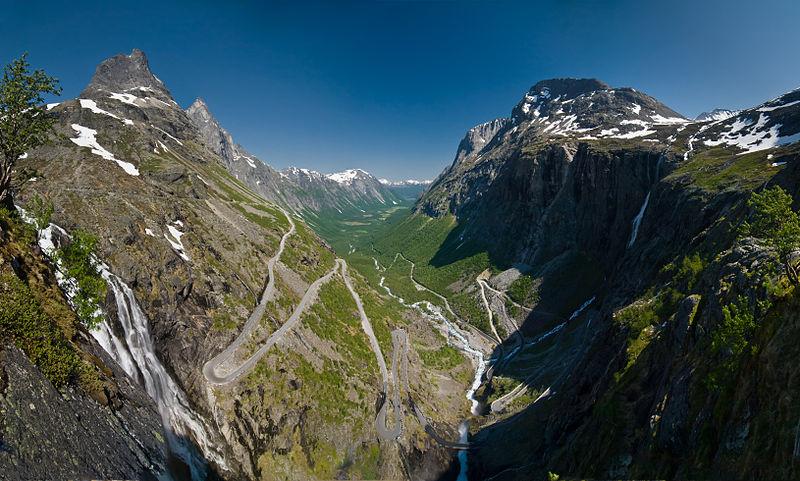 routes étonnantes