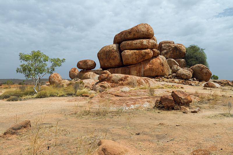 blocs de granit Karlu Karlu