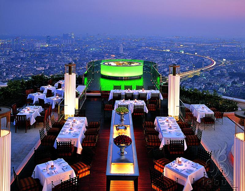 Sirocco Sky Bar à l'Hôtel Lebua à Bangkok