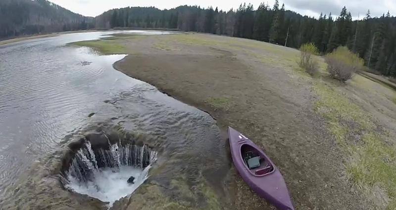 lost lake, un lac de l'Oregon qui disparait