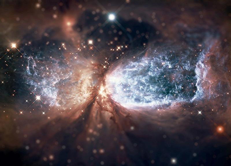 supernovas et galaxies miniaturisées
