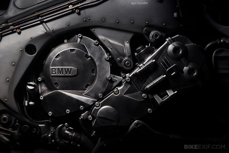 moto BMW k1600 customisée