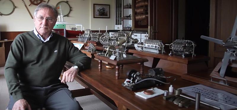 moteur miniature d'automobile de Hermo Barreiro