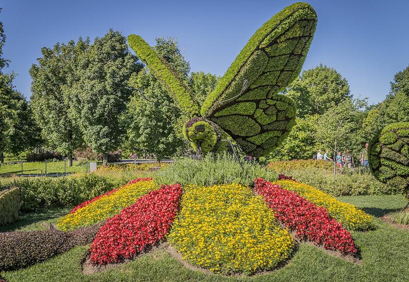 exposition d'art horticole Montréal 2013