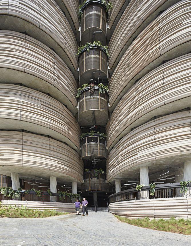 Hub d'apprentissage de l'Université technologique de Nanyang à Singapour