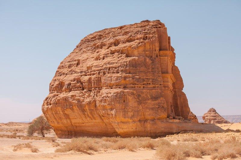 Qasr al-Farid, tombeau solitaire dans le désert d'Arabie Saoudite