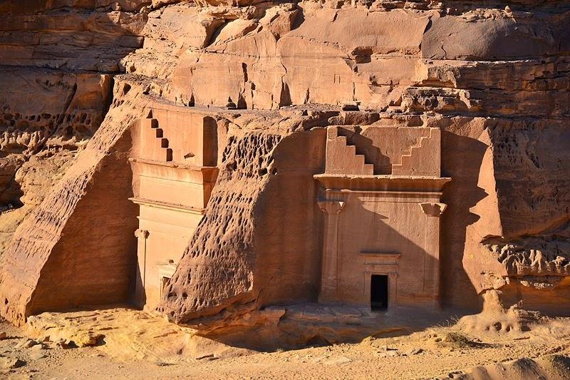 tombes et édifices, site archéologique Mada'in Saleh