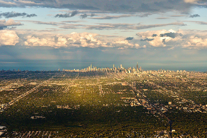 Panorama de Chicago