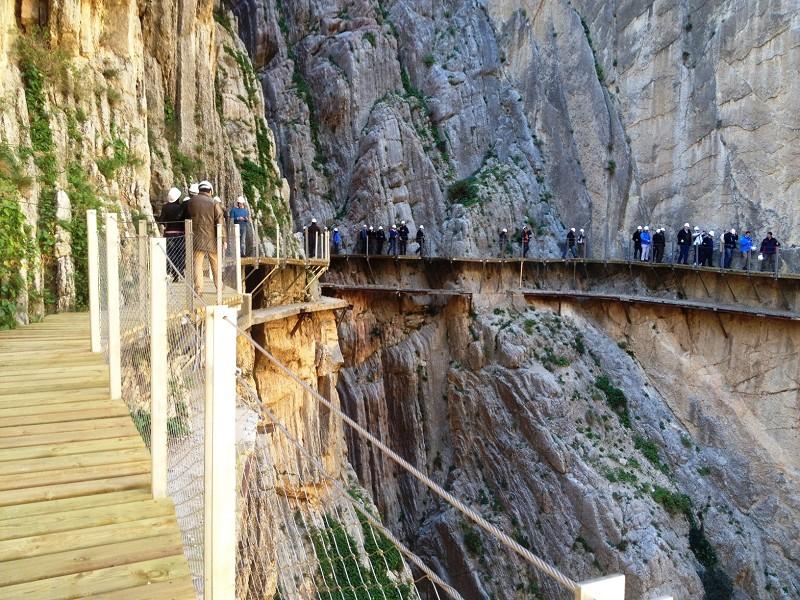 Restauration du Caminito del Rey et ouverture au public