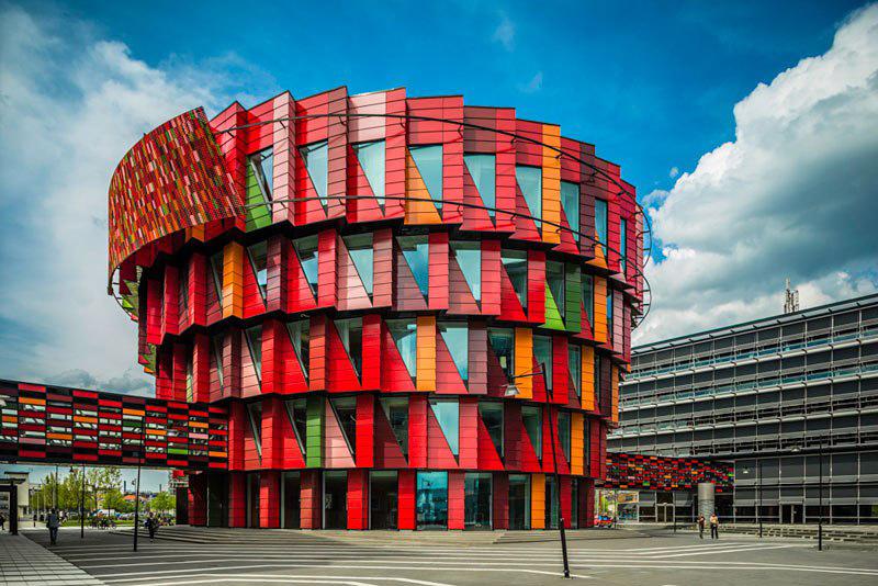 Le bâtiment Kuggen à Göteborg, en Suède