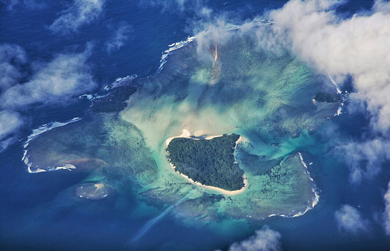 Île inhabitée à Madagascar