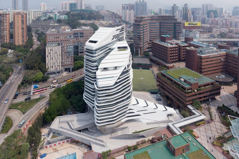 tour de l'innovation Jockey Club, Université polytechnique de Hong Kong