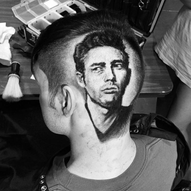Coiffure en portrait réaliste par Roberto Perez