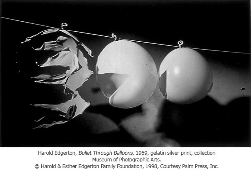 Image stroboscopique d'Harold Edgerton