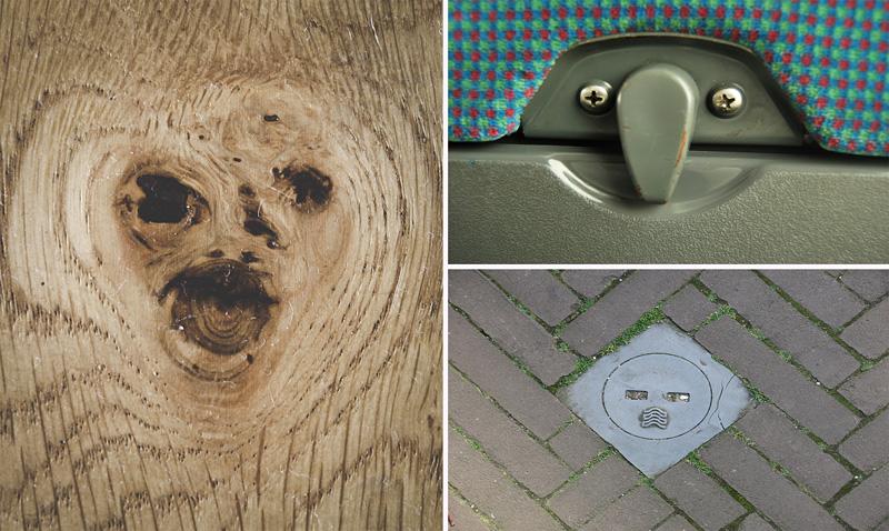 Paréidolie avec des visages qui apparaissent sur des objets du quotidien