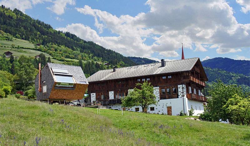 Maison insolite en Autriche