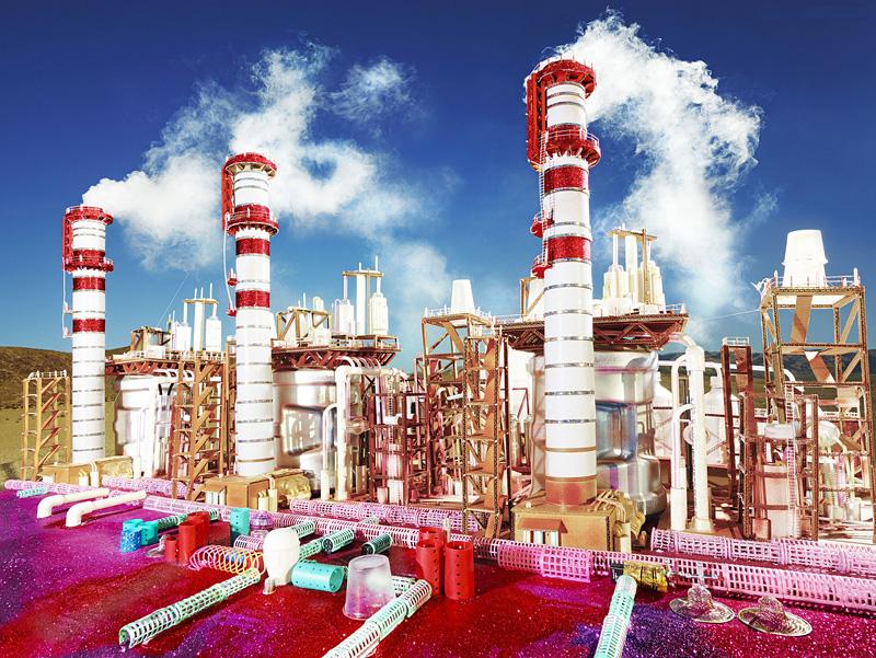 Raffineries et centrales électriques pop-art par David LaChapelle