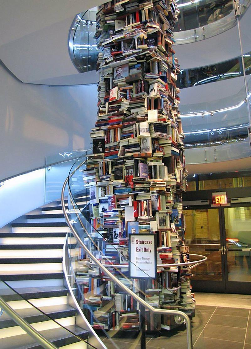 Un pilier de 15000 livres consacrés à Lincoln
