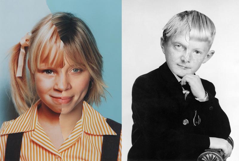 Portraits avant-après