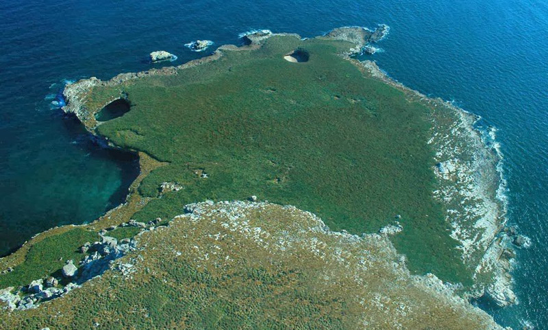 Plage cachée aux iles Marieta au Mexique