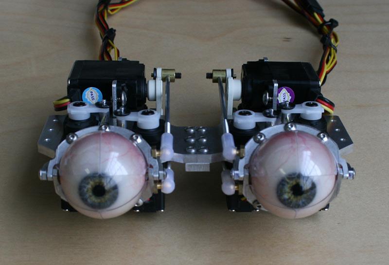 Animatronic : des yeux humains mécaniques