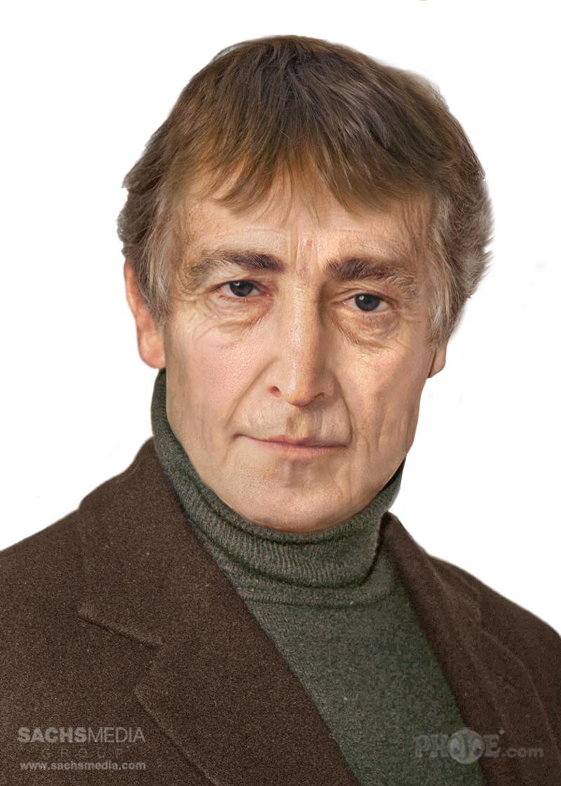 portrait vieilli de John Lennon