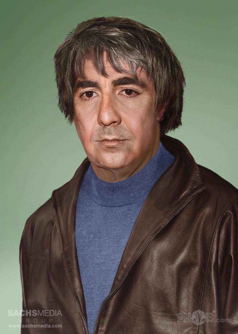 portrait vieilli de Keith Moon