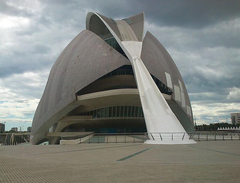 Palais des Arts de la Reine Sofia à Valence