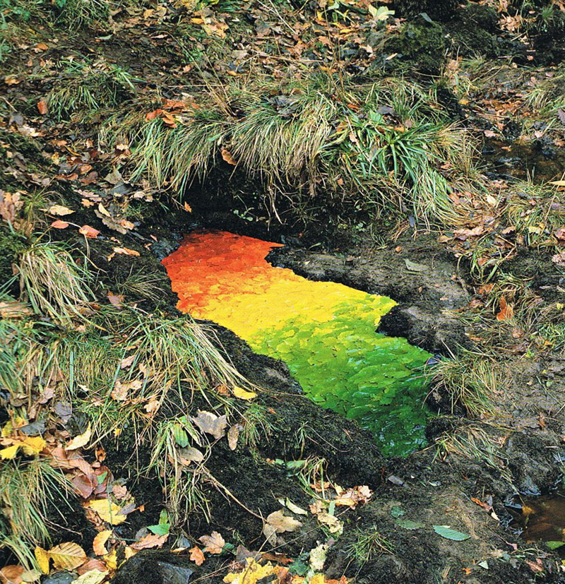 land art par Andy Goldsworthy