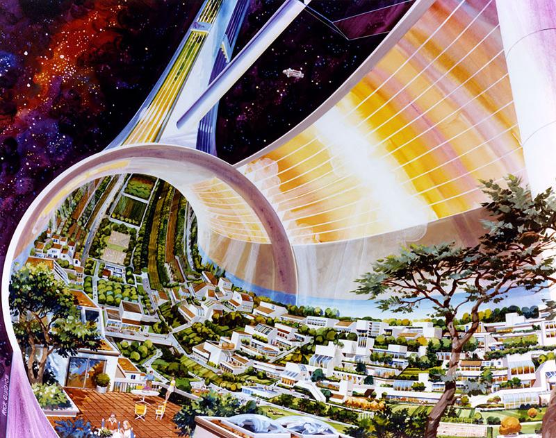colonie spatiale
