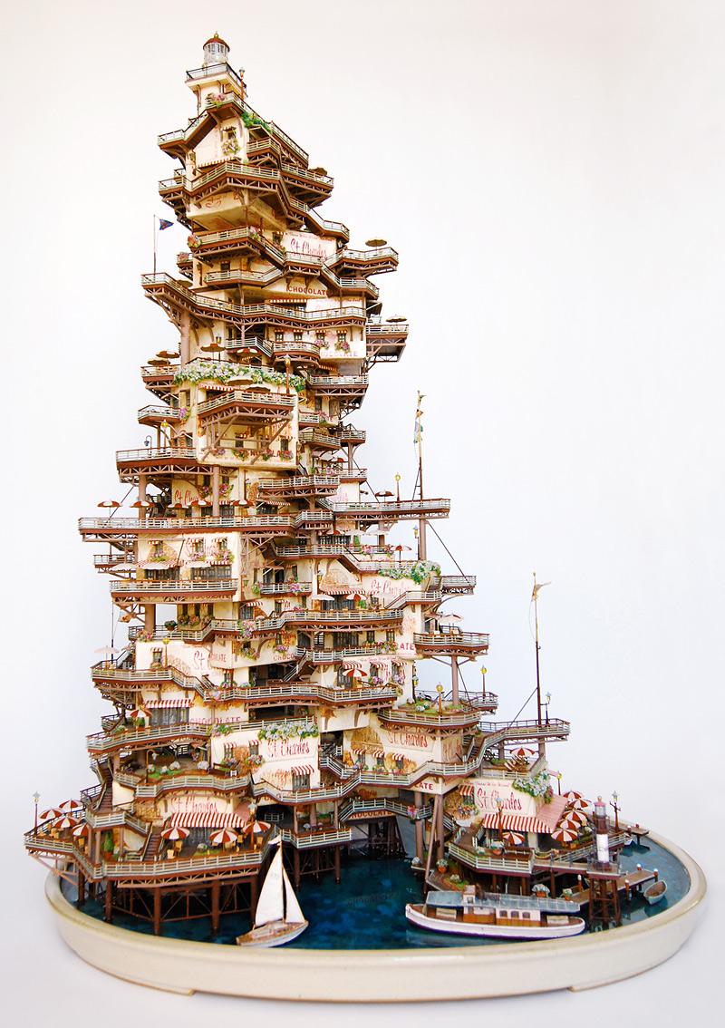 Sculptures miniatures de Takanori Aiba