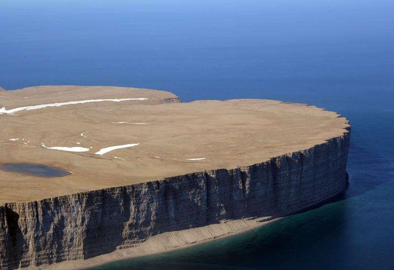 Île du Prince-Léopold en Arctique