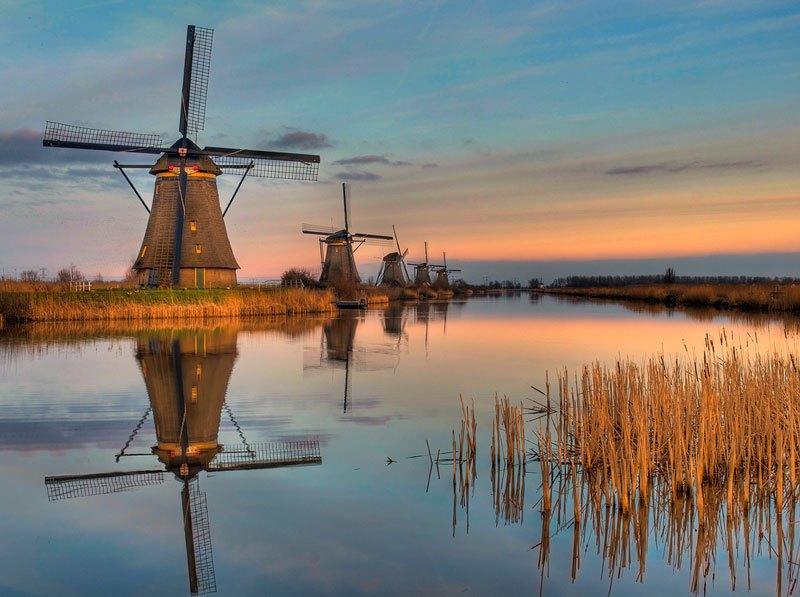 moulins à vent de Kinderdijk