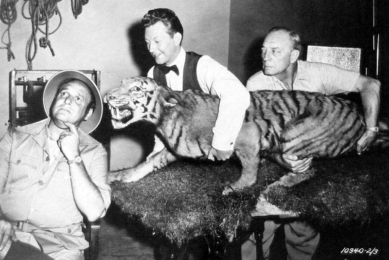 Jackie Coogan, Donald O'Connor et Buster Keaton