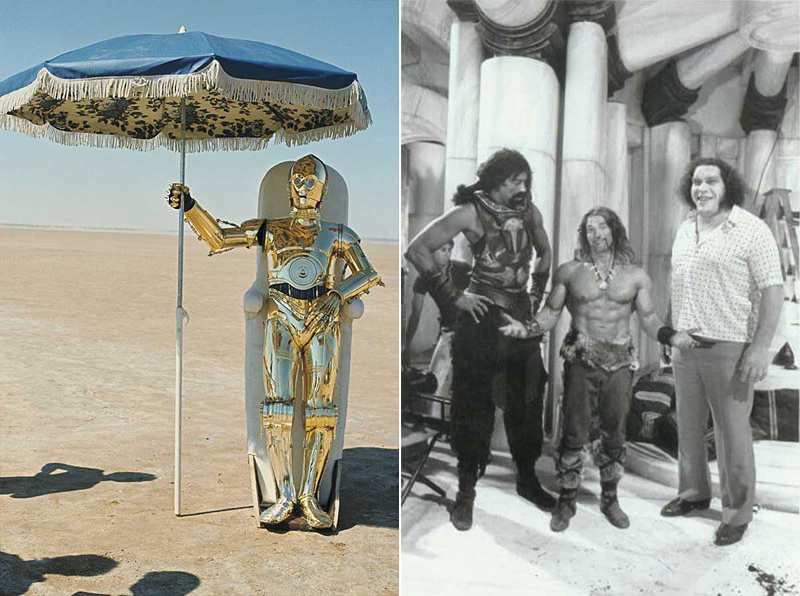 Anthony Daniels dans son costume de C-3P0