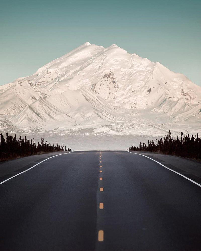 Mont Drum en Alaska