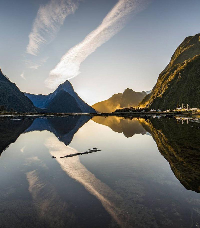 Milford Sound, un fjord de Nouvelle-Zéland